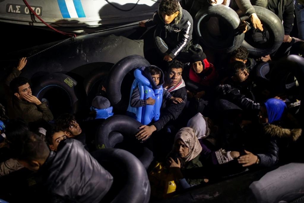 The government has vowed to relocate 20,000 asylum-seekers to camps on the mainland by early 2020