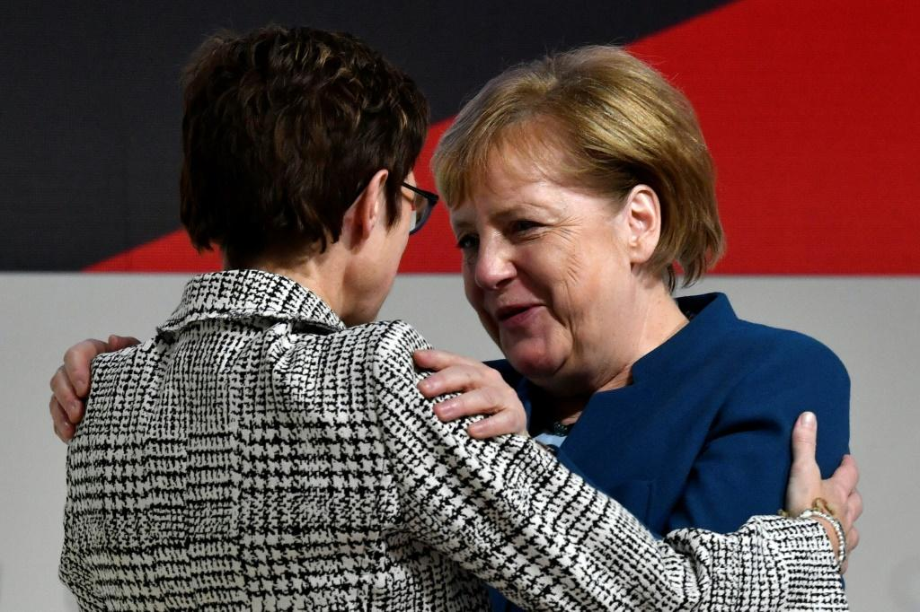 AKK took over the party leadership from Chancellor Angela Merkel at last year's conference