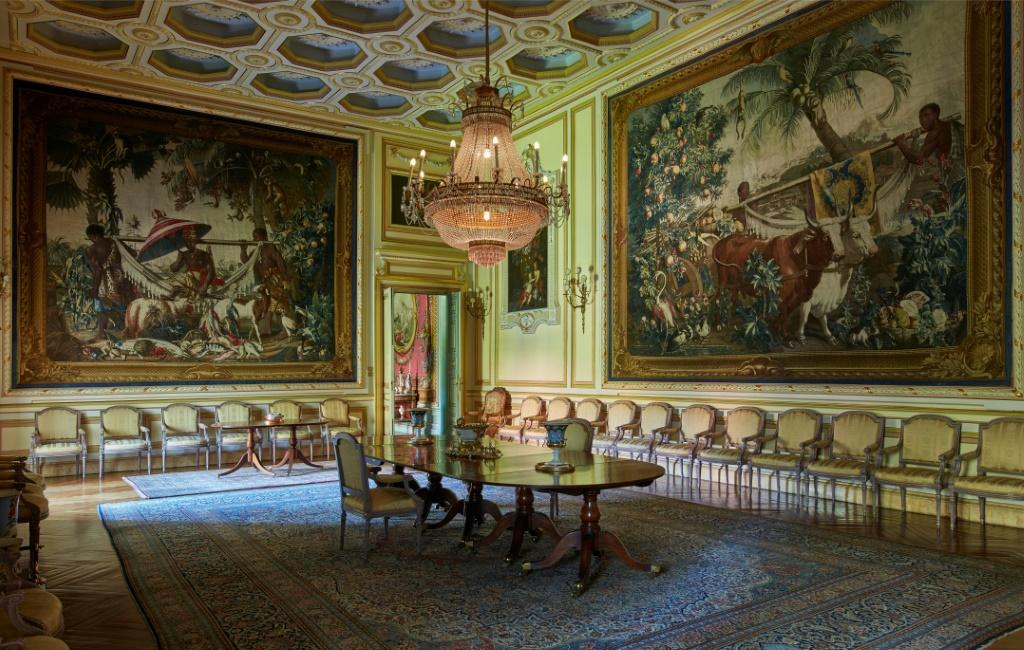 The Liria Palace is home to one of Spain's most important private art collections that includes paintings by Goya, Velazquez and Rubens.
