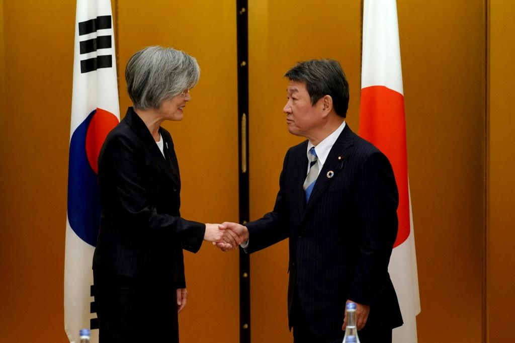 Japan and South Korea are hoping for a thaw in their icy ties