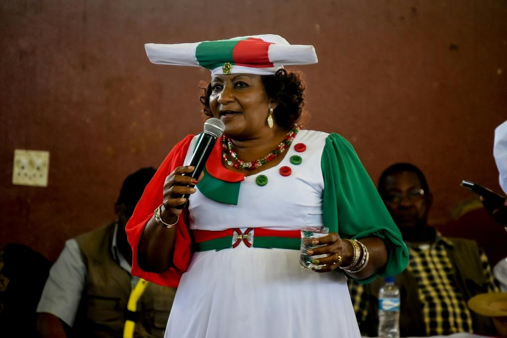 Esther Muinjangue is the first woman to run for president of Namibia