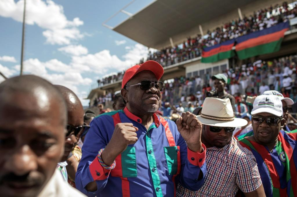 Namibian President Hage Geingob's popularity has waned among frustrated youth who have borne the brunt of the downturn