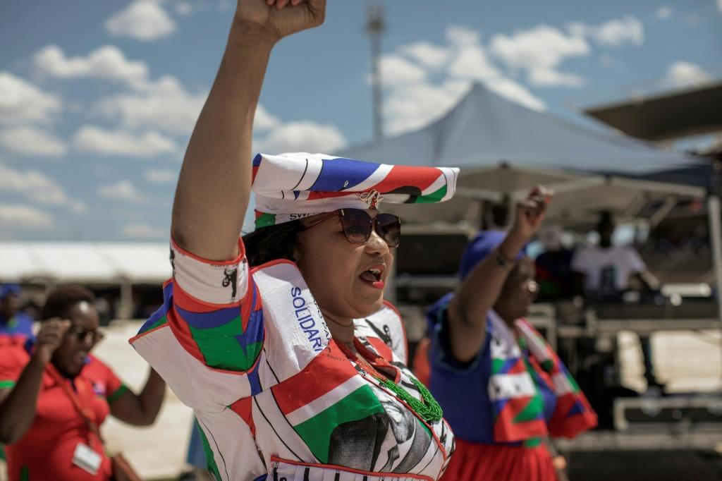 Namibians will vote in a general election on Wednesday -- the ruling SWAPO party has ruled the country since 1990