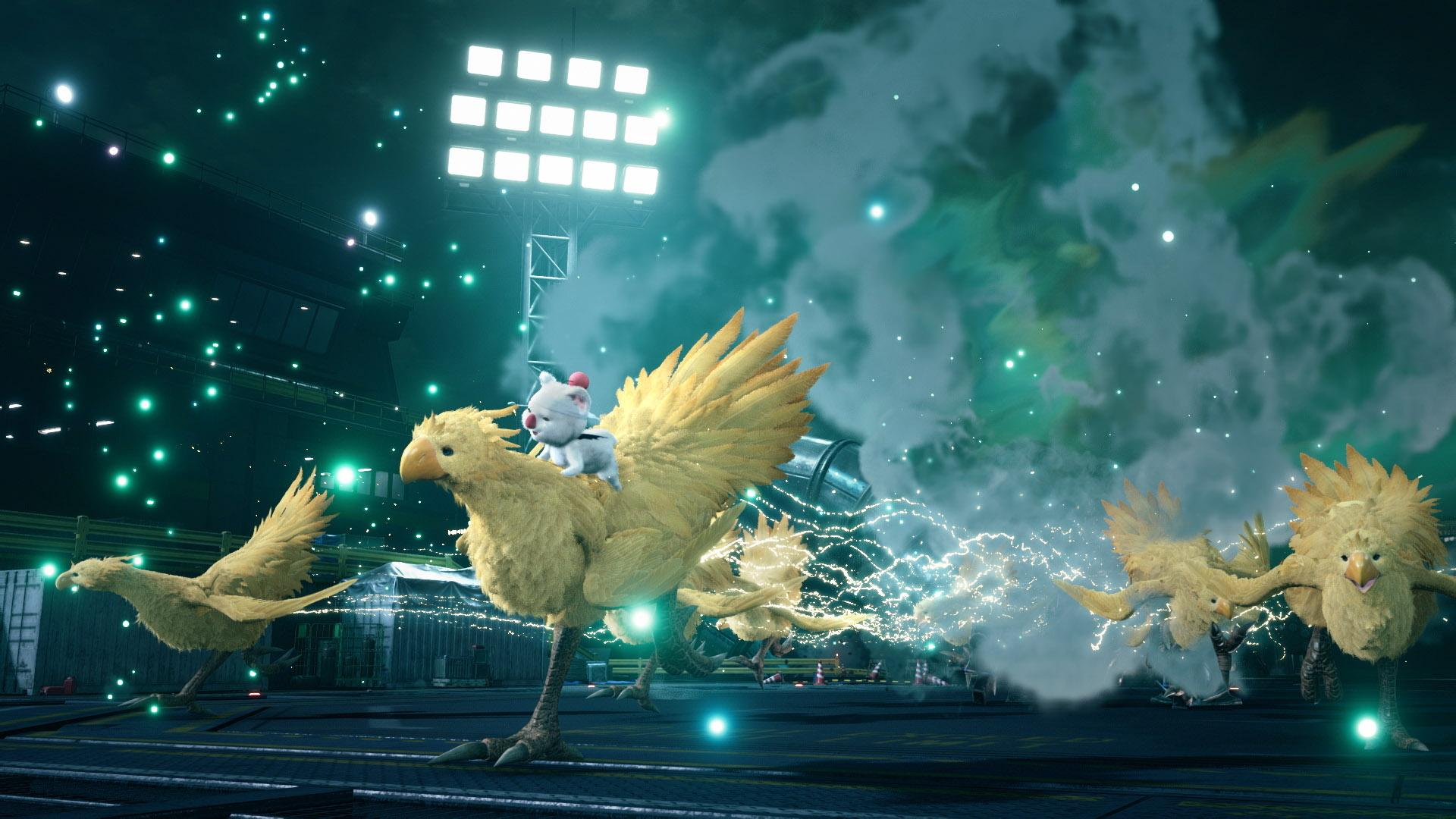 """Final Fantasy 7 Remake"""": The new version of """"Final Fantasy 7 Remake"""" features newly-designed moogles and chocobos."""