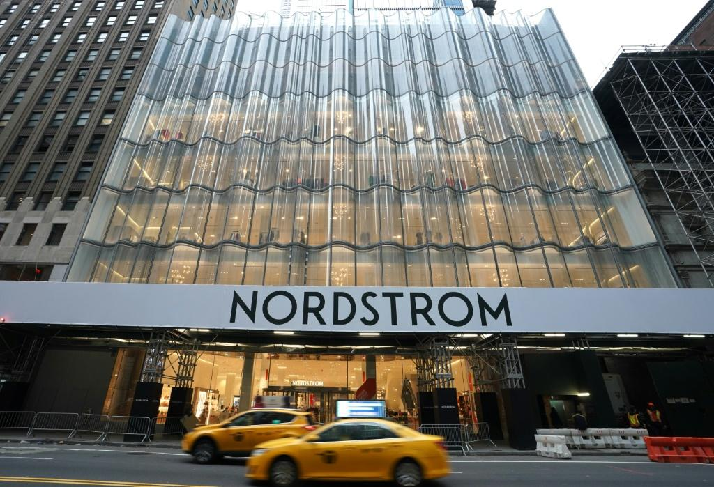 A view of New York City's first-ever women's Nordstrom that spans seven stories taken on November 27, 2019 in New York City