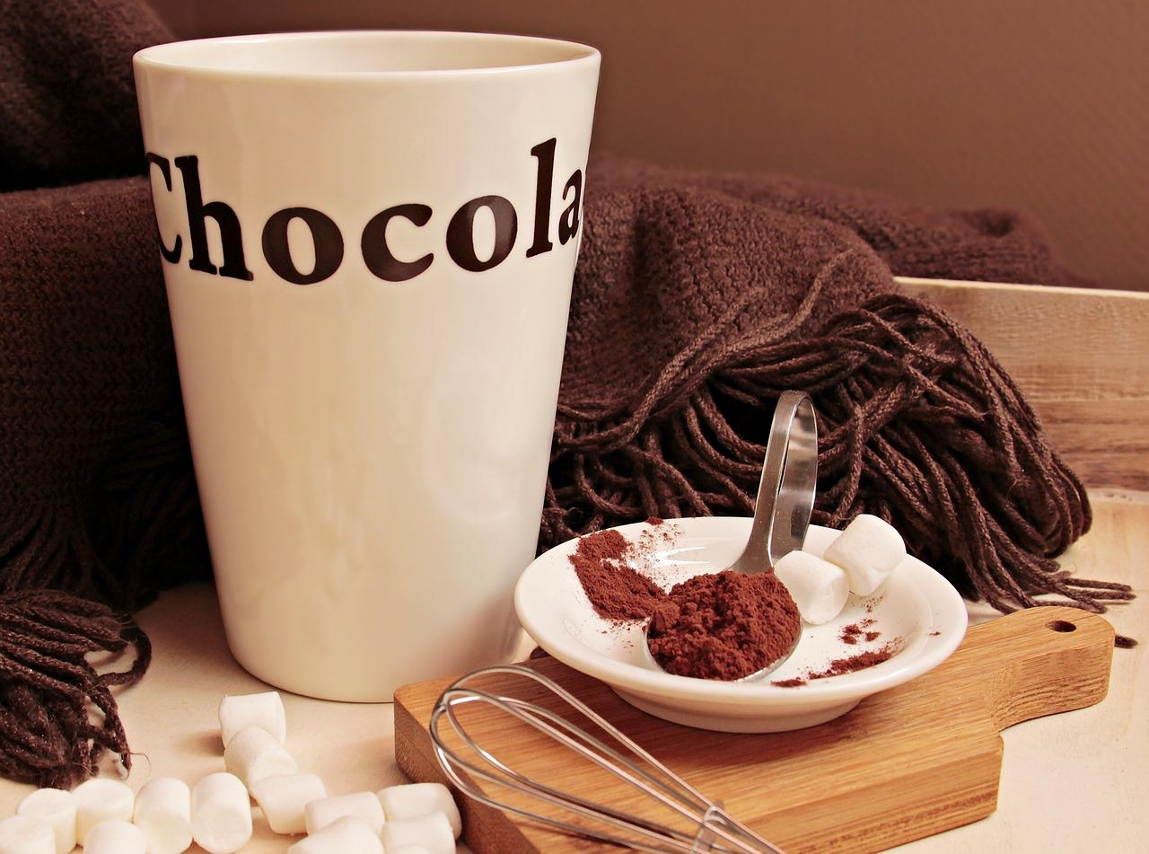 hot chocolate during winter defend against heart attack
