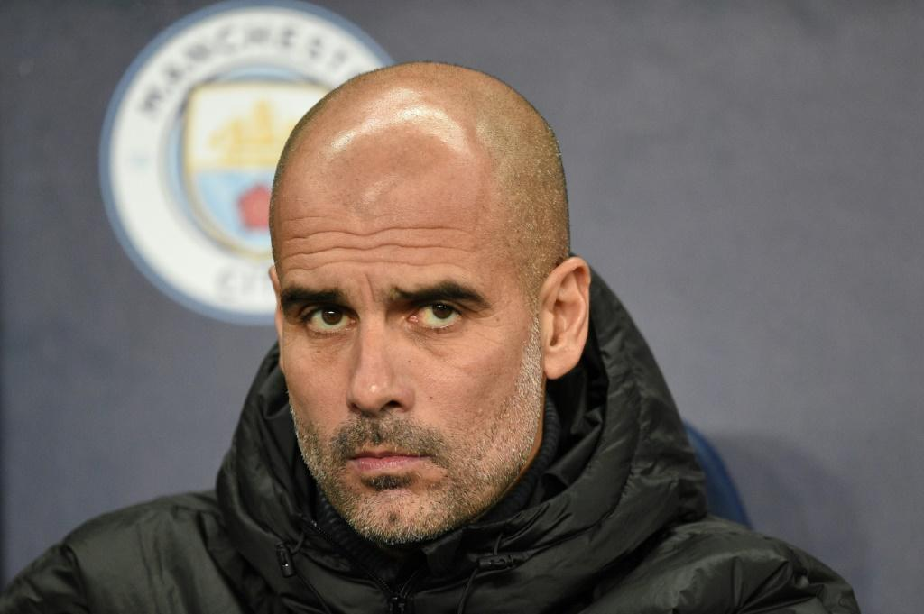 Eyes on the future: Manchester City boss Pep Guardiola