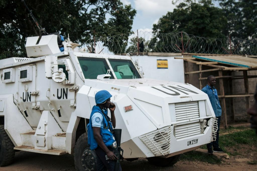 UN forces have become the focus of angry protests over the perceived failure to stop militia attacks