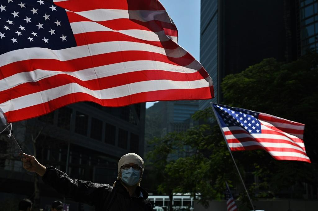 Hong Kong protesters have been heartened by US legislation signed this week backing their movement