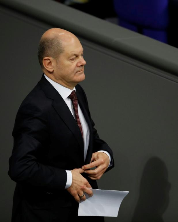Rank and file Social Democrats delivered a humiliating blow to Finance Minister Olaf Scholz's run for co-chair of his centre-left party