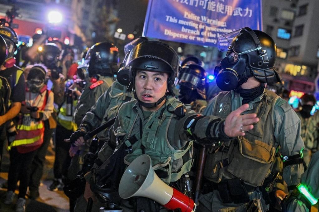 Hong Kong has been rocked by nearly six months of increasingly violent unrest demanding greater autonomy, which Beijing has frequently blamed on foreign influence