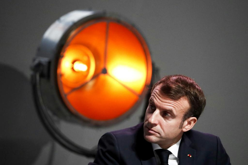 """French President Emmanuel Macron has been feeling the heat since he called NATO """"braindead"""