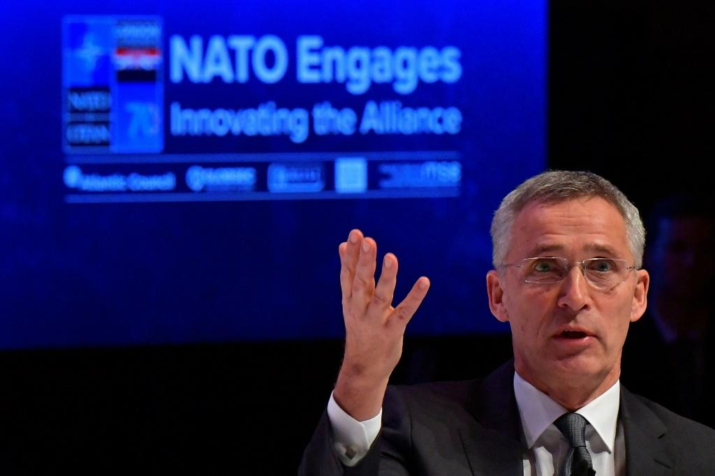 """NATO chief Jens Stoltenberg said allies """"should never question the unity and the political willingness to stand together and to defend each other"""