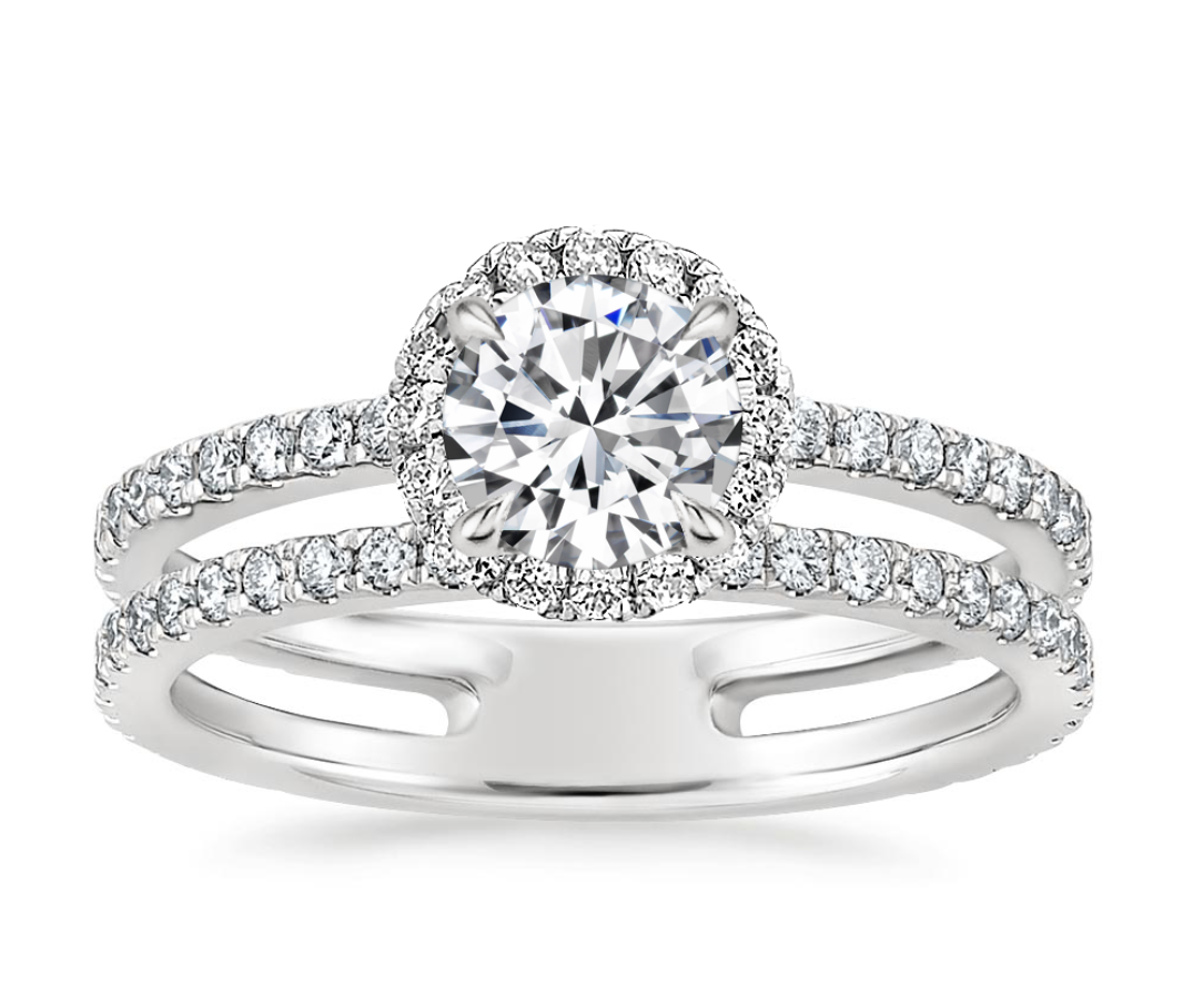Linnia Halo Diamond Ring (2/3 ct. tw.)
