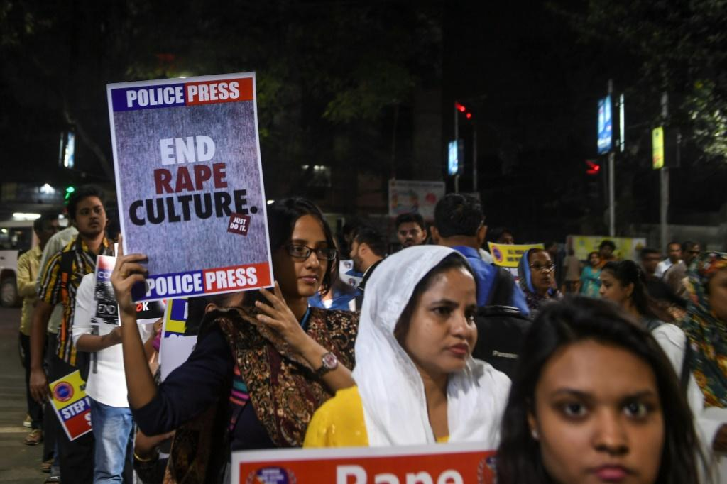 Tens of thousands of women are raped in India each year, according to police data