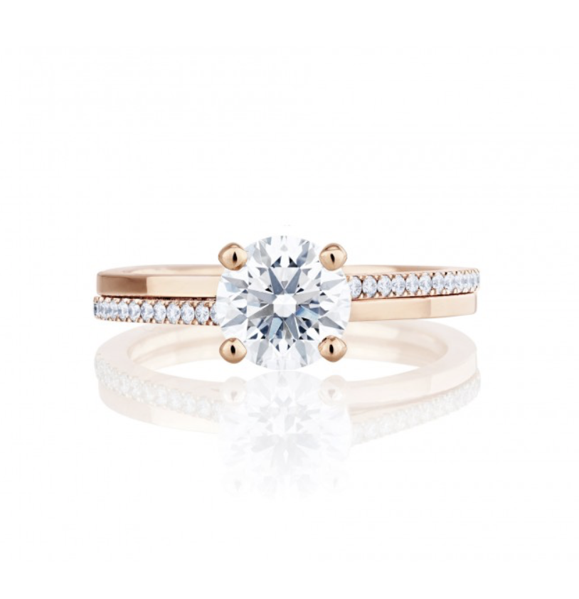 PROMISE ROSE GOLD SOLITAIRE RING