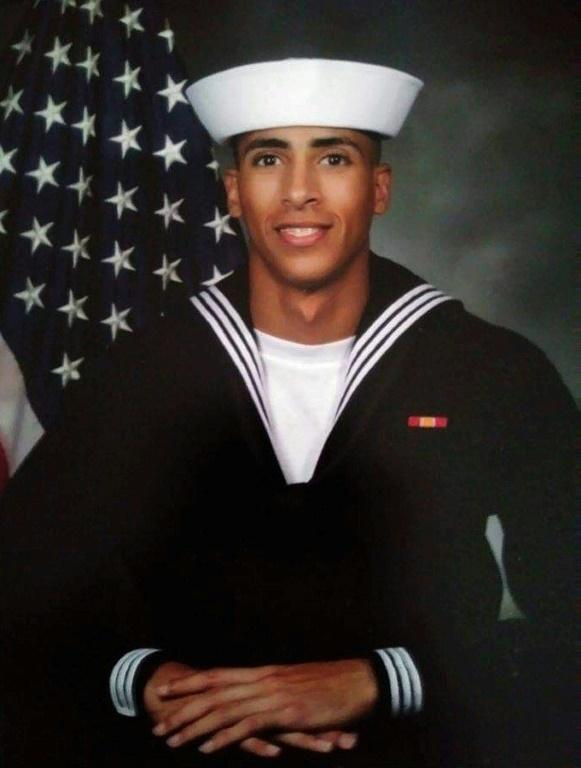 An undated photo of Airman Mohammed Sameh Haitham, from St. Petersburg, Florida, one of three US Navy sailors killed in an attack by a a Saudi military trainee