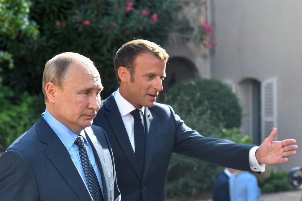 French President Emmanuel Macron will host Russian leader Vladimir Putin in Paris on Monday as part of his new strategy to directly engage with Moscow