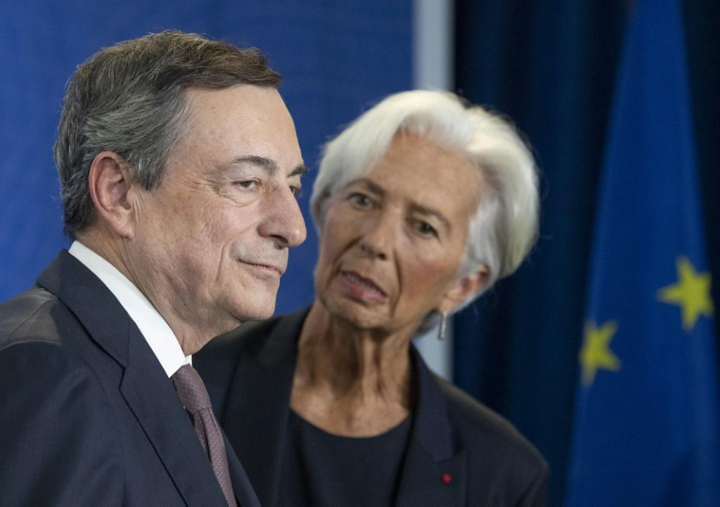 Lagarde is widely predicted to leave her predecessor Mario Draghi's ultra-loose monetary policy unchanged