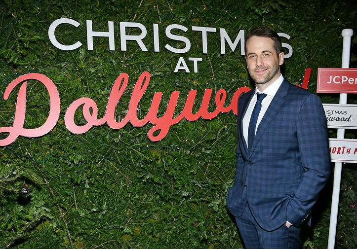 niall matter jcpenney christmas dollywood premiere