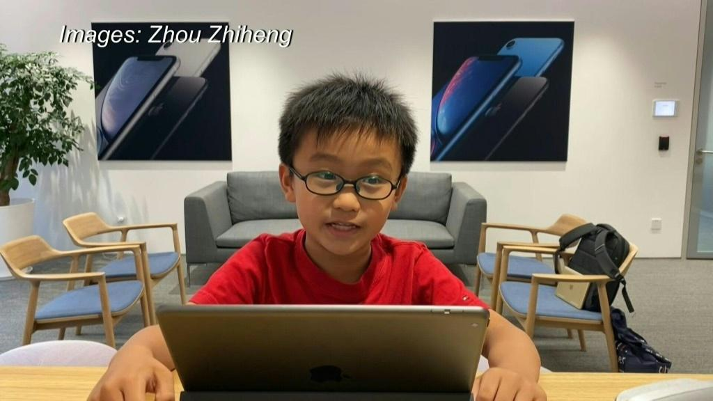 As China's leaders push to develop the country's artificial intelligence tech, wealthy parents are taking kids as young as three to programming schools. One eight-year-old is already giving his own tutorials.