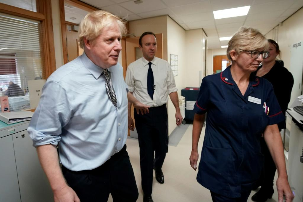Johnson came under fire for initially refusing to look at the picture of a small boy forced to sleep on a hospital floor