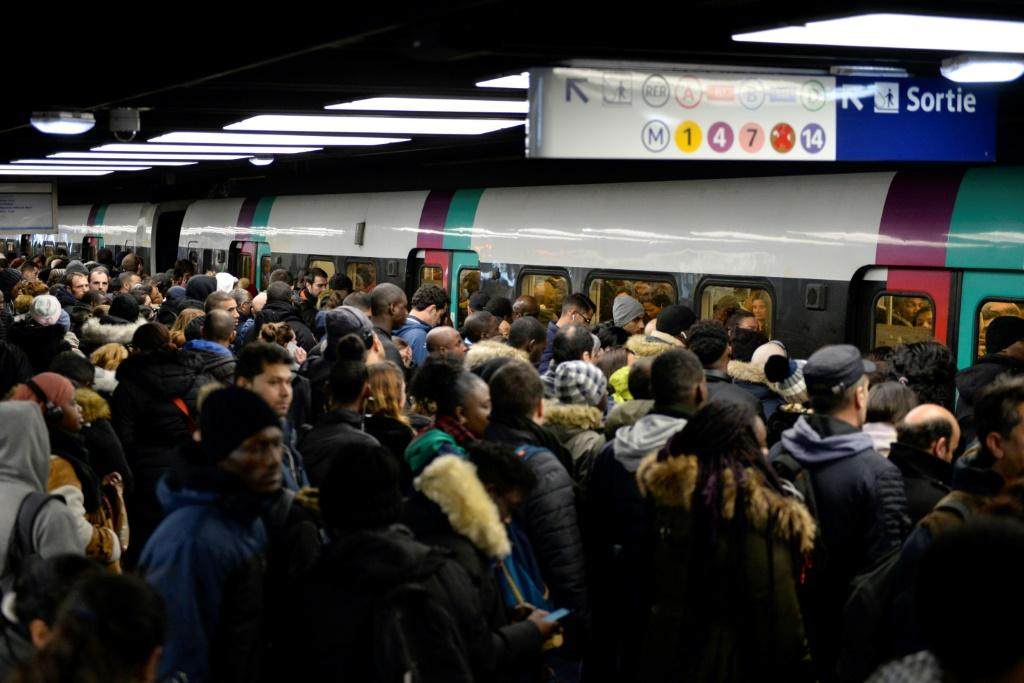 The transport strikes have hit Paris the most