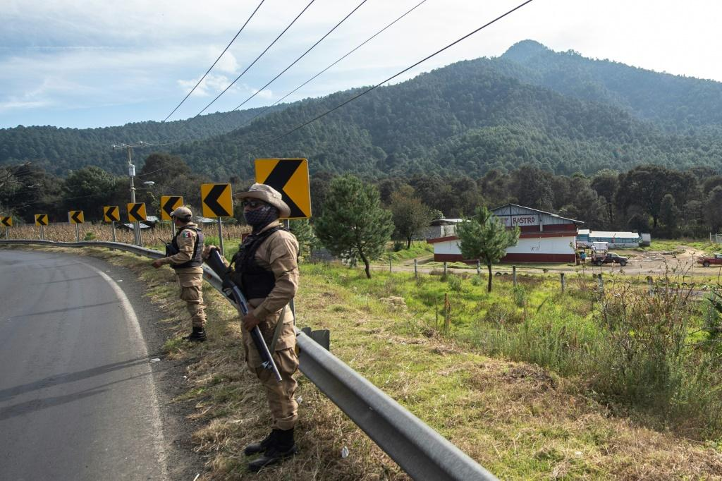 Community police patrol in the Mexican indigenous town of Cheran, which is practically an independent state won back by locals from illegal loggers and drug cartels
