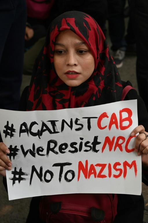 The hashtags #IndiaAgainstCAA and #CAAProtest were among Twitter's top trends