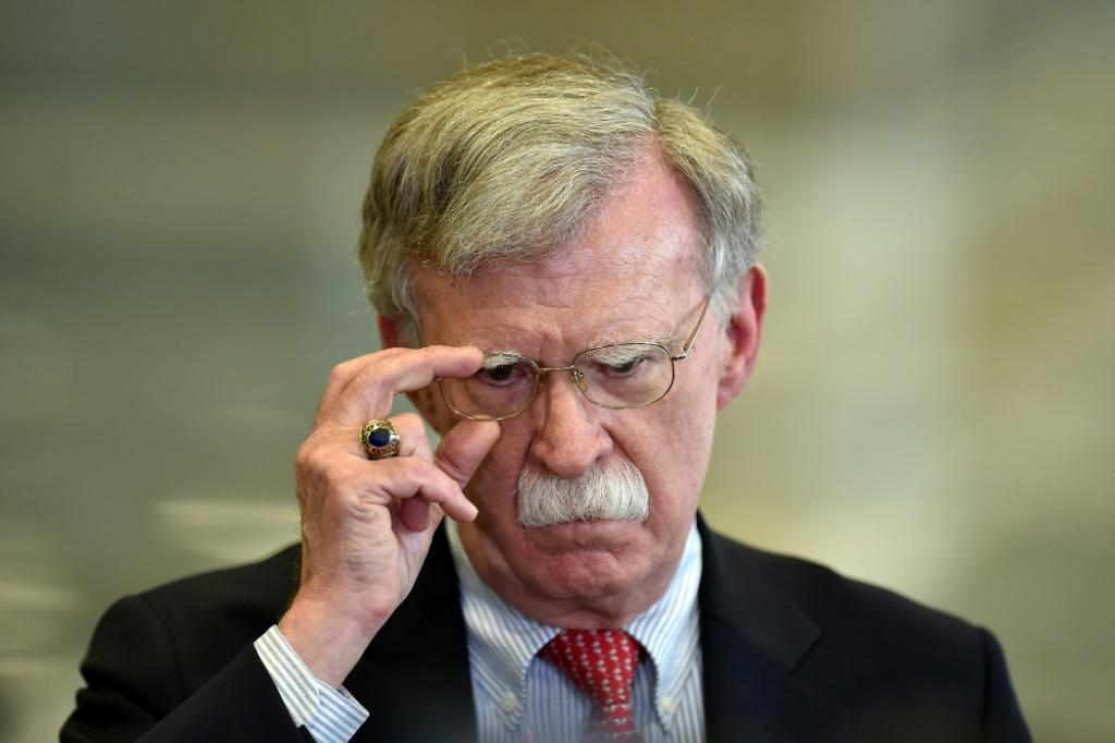 "Former US National Security Adviser John Bolton said North Korea posed an ""imminent"" threat"