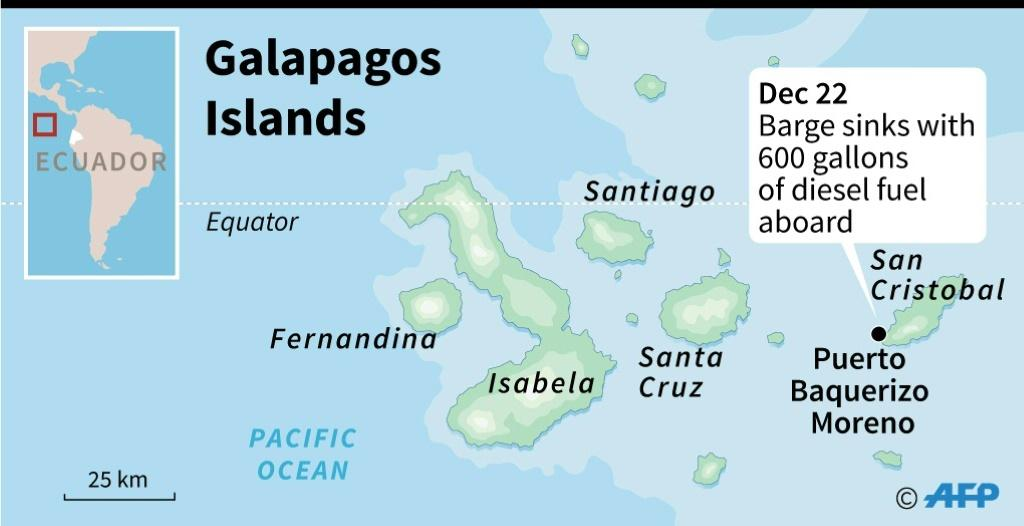 Not A Single Species Affected By Galapagos Fuel Spill