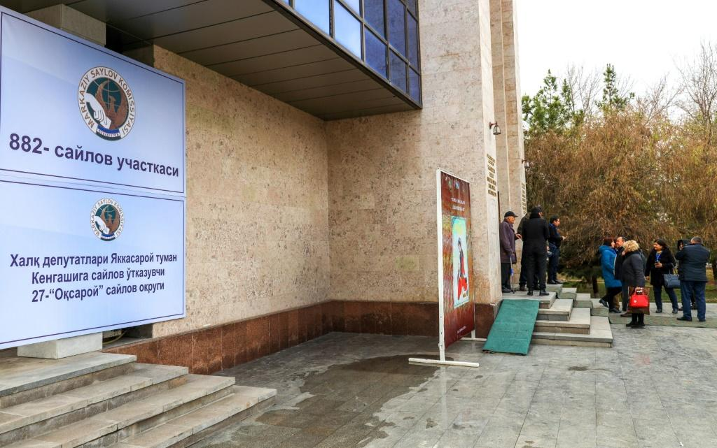 """The OSCE has complained about a """"lack of real contest"""" in Uzbekistan's election"""