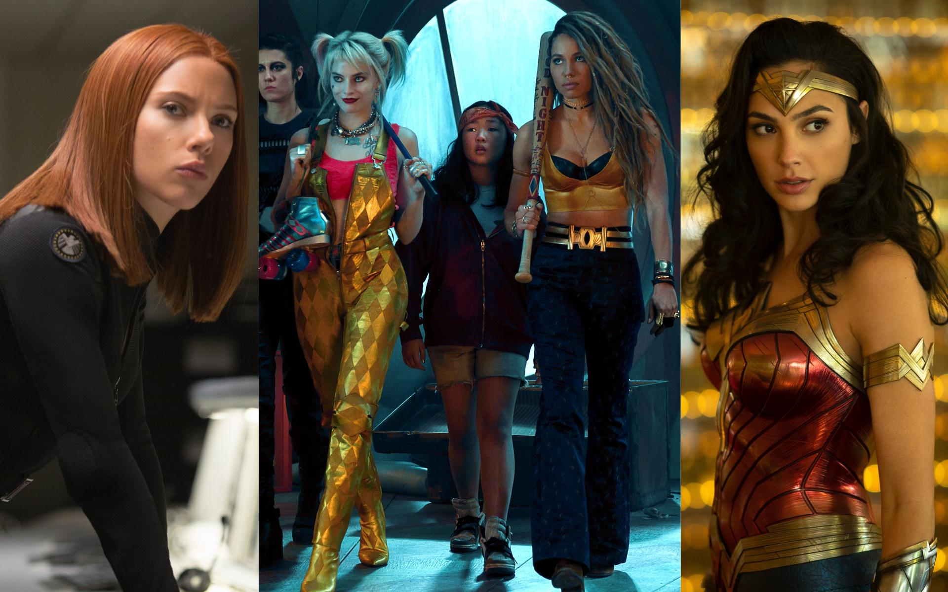 Female Superhero Movies 2020