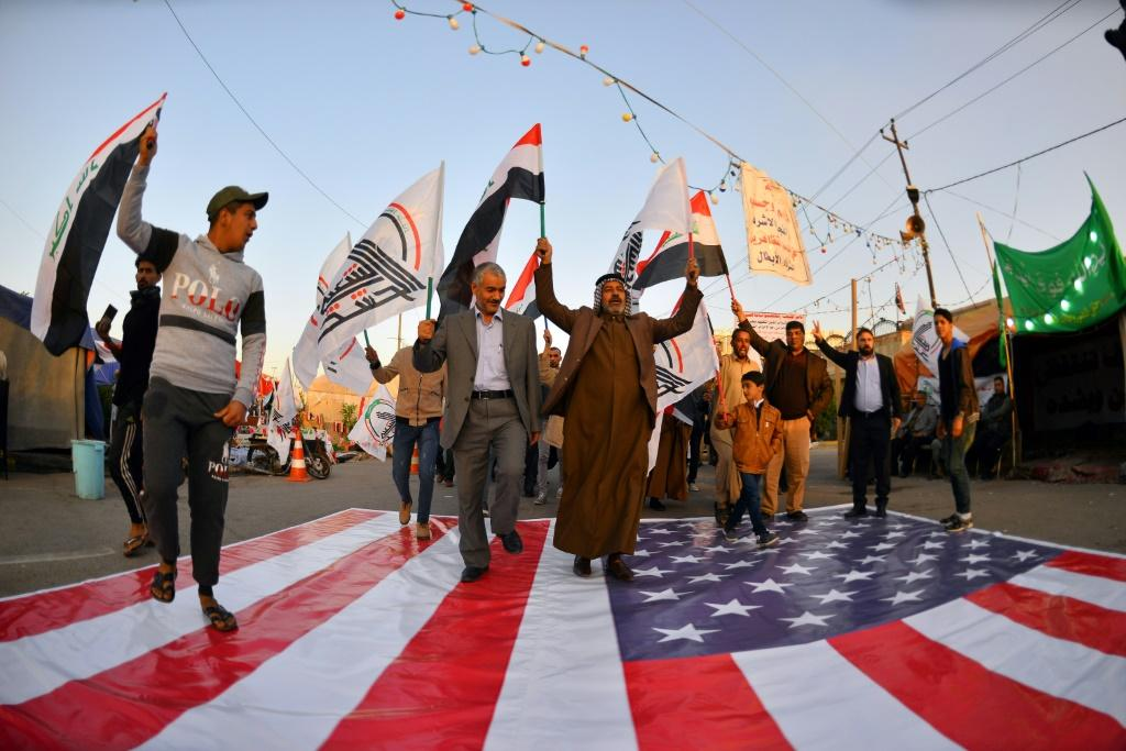 US sources say pro-Iran armed factions in Iraq now pose a greater threat than the Islamic State group whose rise saw the US freshly deploy troops on Iraqi soil