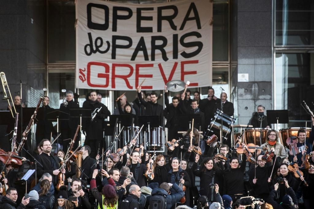 Paris Opera musicians benefit from a special retirement regime that dates back to 1698