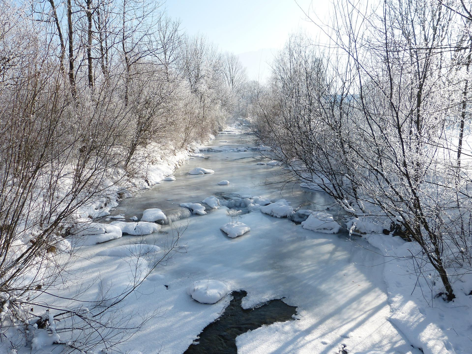 Global warming behind river ice cover loss Study