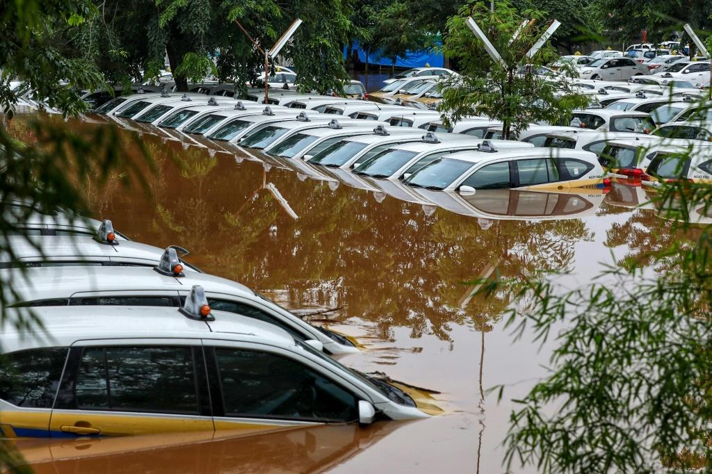 Tens of thousands of residents have been evacuated to temporary shelters