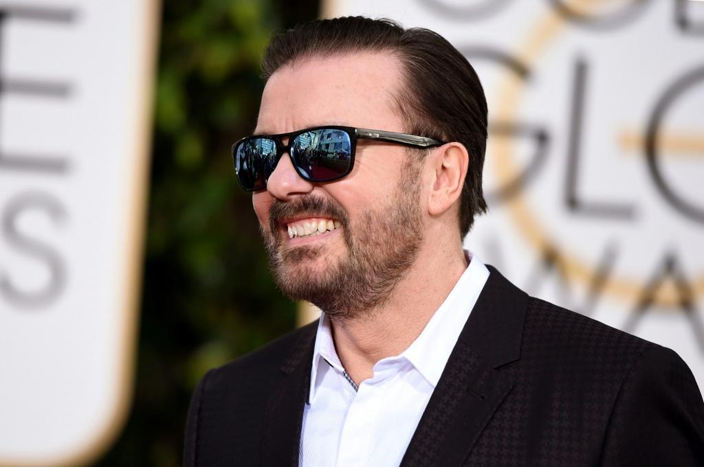 Ricky Gervais comedian