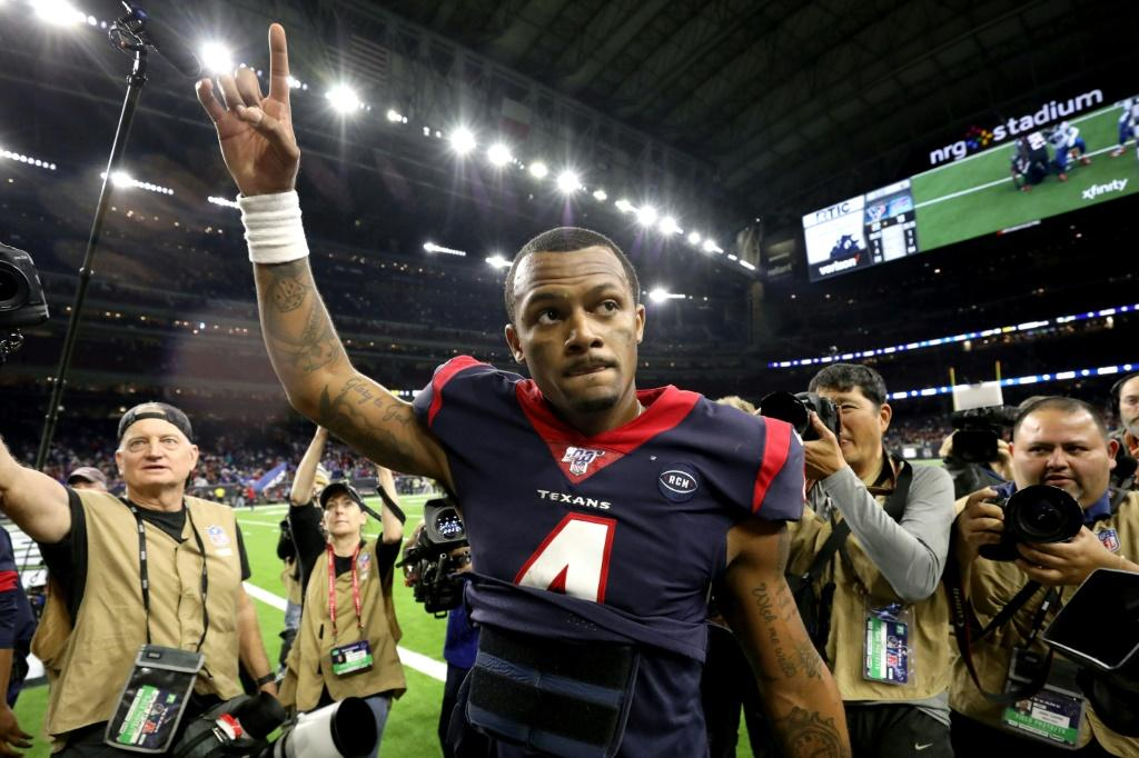 Houston quarterback Deshaun Watson threw for one touchdown and ran for another to lead the Texans over visiting Buffalo 22-19 in over-time in Saturday's opening game of the NFL playoffs