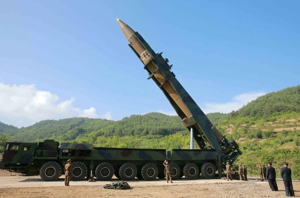 International sanctions have been imposed on Pyongyang over its nuclear and ballistic missile programmes