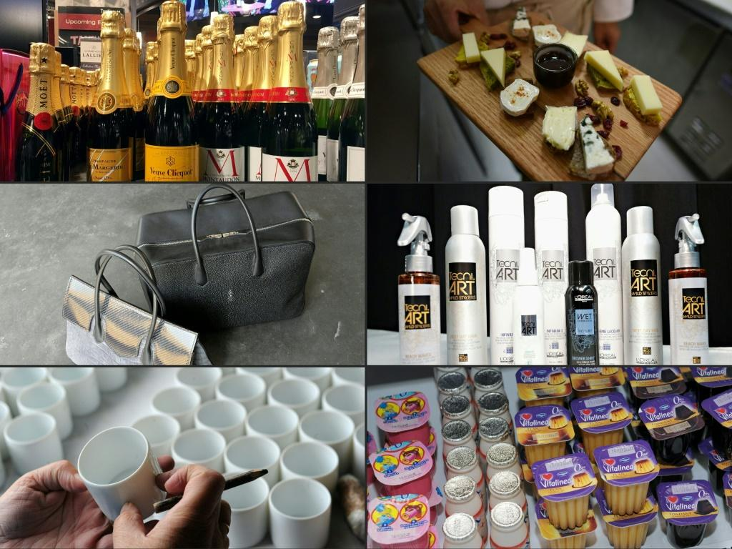 Some of the items facing new US tariffs: champagne, brie, handbags, cosmetics, Limoges porcelaine cups, dairy goods