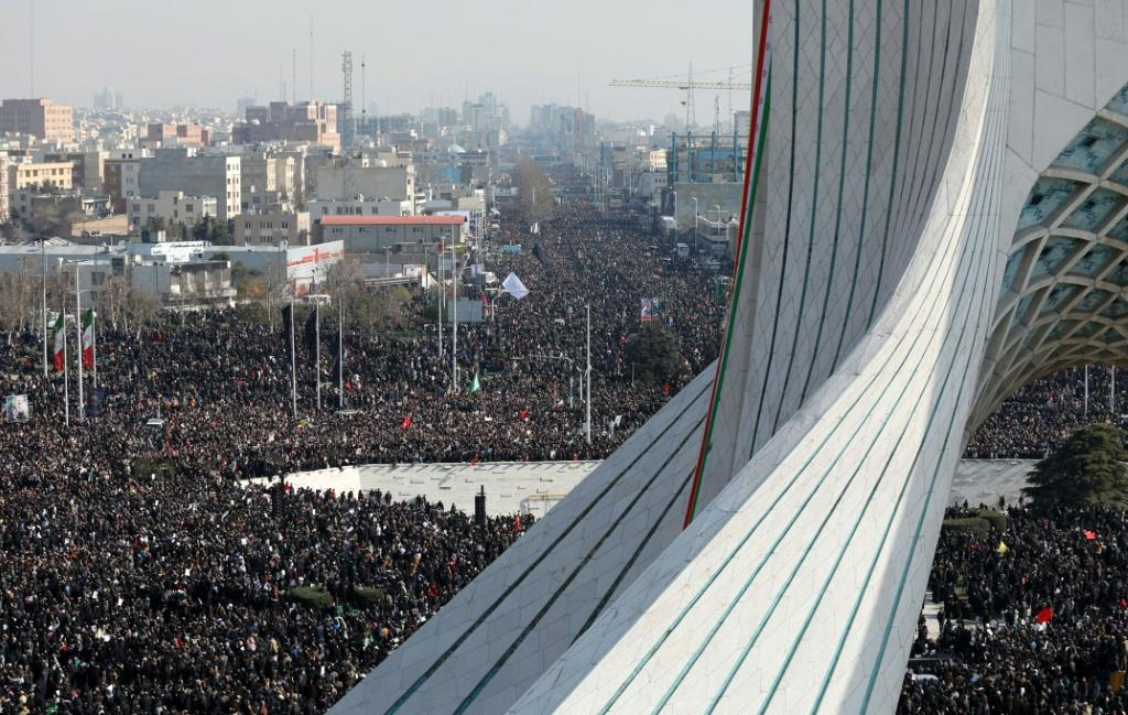 Turnout for Soleimani's funeral commemorations has been enormous in all of the citiers where they have been held