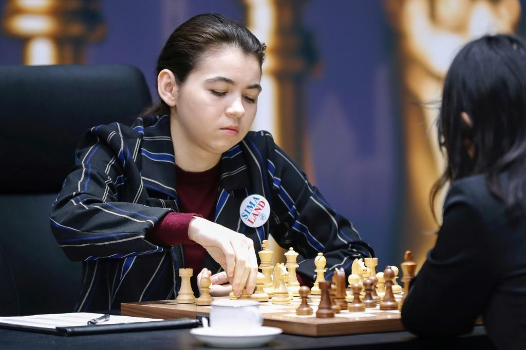 """Goryachkina called the changes to the women's tournament """"very positive"""" but said she was motivated by winning the title, not the cash"""