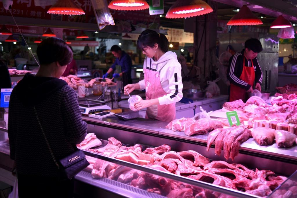 Swine fever has ravaged China's pig herd and caused the price of pork to double over the past year, though authorities have tapped the nation's reserves ahead of Chinese New Year