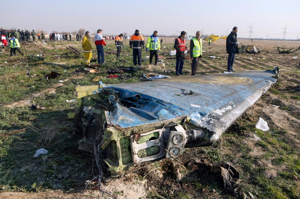 Iranian experts begin their investigation into why a Ukrainian airliner crashed shortly after takeoff from Tehran with the loss of all 176 people on board