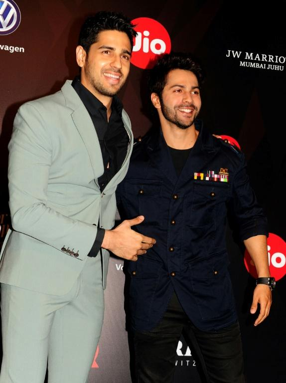 Actors Sidharth Malhotra (L) and Varun Dhawan have spoken out against the violence
