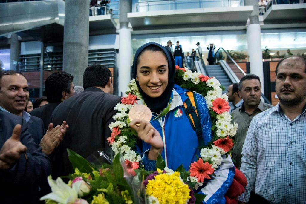 Iranian Olympic medallist Kimia Alizadeh says she has permanently left Iran, citing oppression by authorities