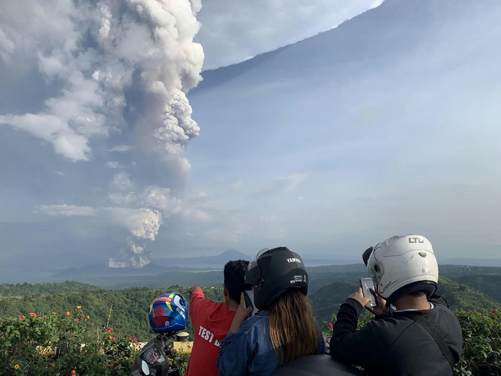 Government seismologists recorded magma moving towards the crater of Taal, one of the Philippines' most active volcanoes
