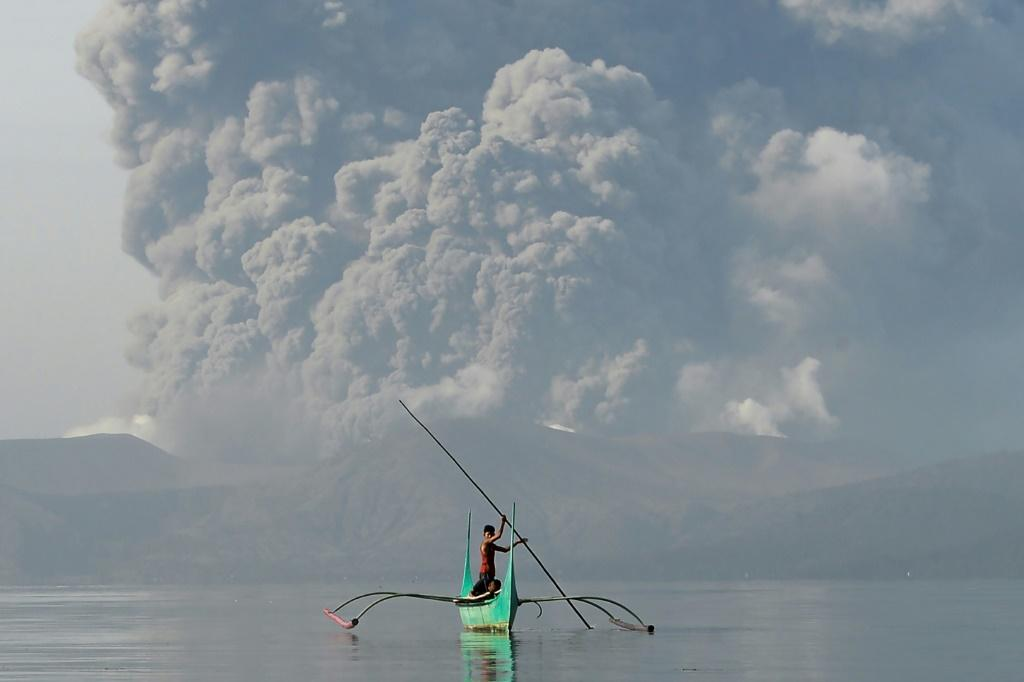 Philippine authorities have raised an alert for a possible 'explosive eruption' of the Taal volcano near Manila