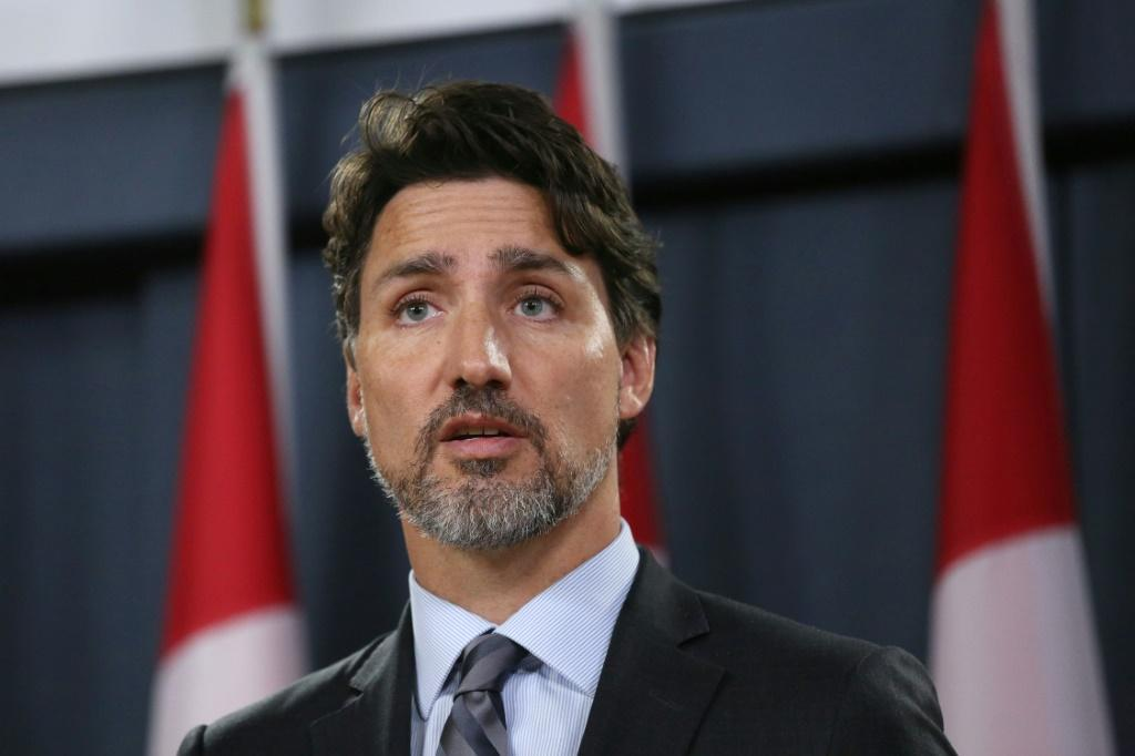 "Canadian Prime Minister Justin Trudeau (pictured January 11, 2020) said the tensions in Iran that caused a jetliner to be shot down were ""brought about by US actions"